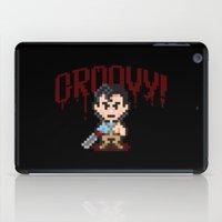 evil dead iPad Cases featuring Evil Dead Pixels by Jango Snow