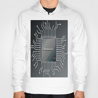 computer Hoodies featuring Computer Chip by Robin Curtiss