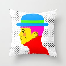 Mr. Colors Throw Pillow