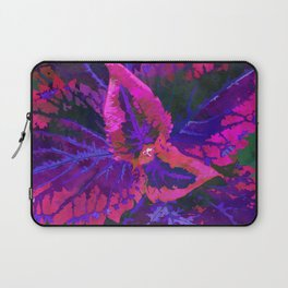 Purple Kong Coleus Plant - Botanical Illustration Laptop Sleeve