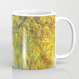 Claude Monet - Weeping Willow - Digital Remastered Edition Coffee Mug