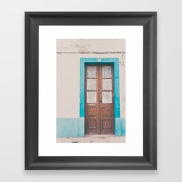 That door of yours Framed Art Print