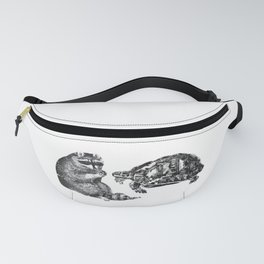Racoon Turtle Fanny Pack