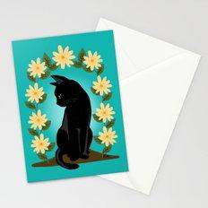 Flower gate Stationery Cards