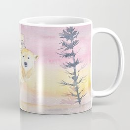 Polar Bear Family Coffee Mug