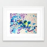 fairies Framed Art Prints featuring Fairies by Pajaritaflora