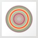 spring mandala (white background) by ofmonsters