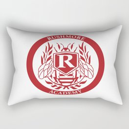 Rushmore Academy seal Rectangular Pillow