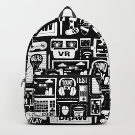 It's a Game Dev World Backpack