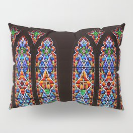 Mary's Mountain Windows Pillow Sham