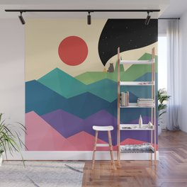 Over The Rainbow Wall Mural