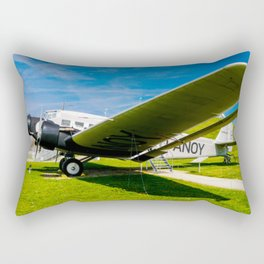 Lufthansa YU 52 Airport Munich Rectangular Pillow