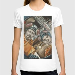 Heisenberg and Jesse, oil painting T-shirt