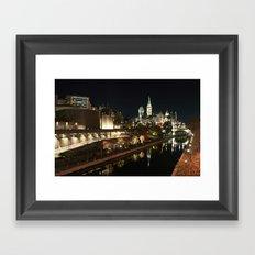 Downtown Ottawa Framed Art Print