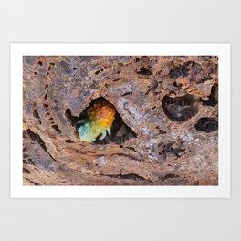 Scaley Lumpcrawler Art Print