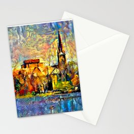 Notre Dame: A View From the Lake Stationery Cards