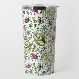 Tropical Rainforest pattern Travel Mug