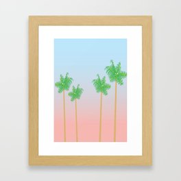West Coast Dreaming Framed Art Print