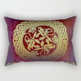 Oriental Motif Rectangular Pillow
