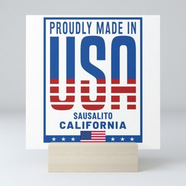Sausalito California Mini Art Print