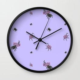 Spiderflower Wall Clock