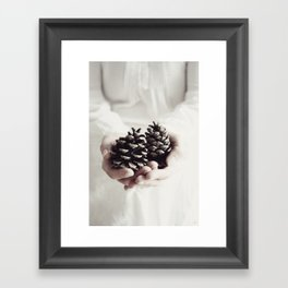 It's time to give Framed Art Print