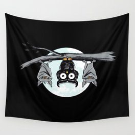 Cute Owl With Friends Wall Tapestry