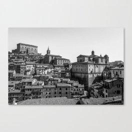 Soriano nel Cimino (Italy) - Orsini Castle Canvas Print