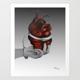 Cardiac Arrest Art Print