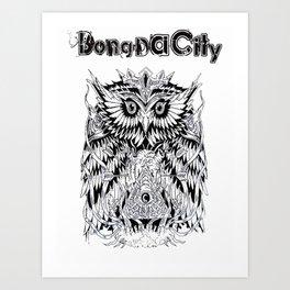 Bong Da City Art Print