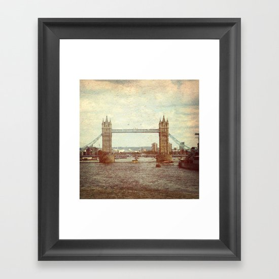 Tower Bridge 2 Framed Art Print