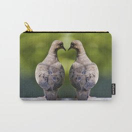 Dove Love Birds Carry-All Pouch