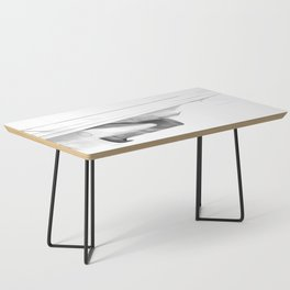 Black and white airplane Coffee Table