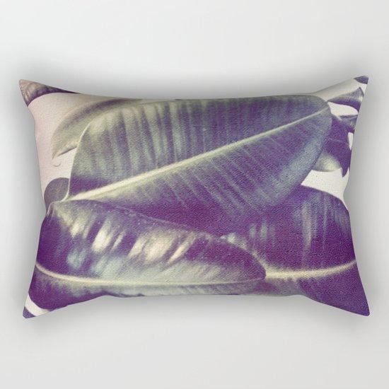 Ficus Elastica #2 Rectangular Pillow