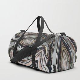 Parallel Universe Marble Wisdom Veins Duffle Bag