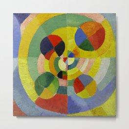 """Robert Delaunay """"Circular Forms"""" (detail) Metal Print"""