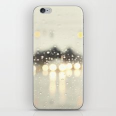 driving in the rain iPhone & iPod Skin