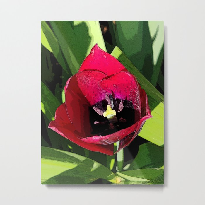 SHOP MY FLORAL METAL PRINTS COLLECTION on Society6