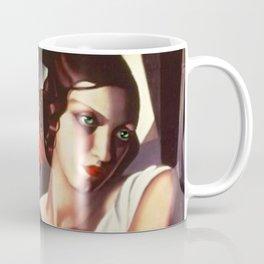 Classical Masterpiece 'Portrait D'ira' by Tamara de Lempicka Coffee Mug