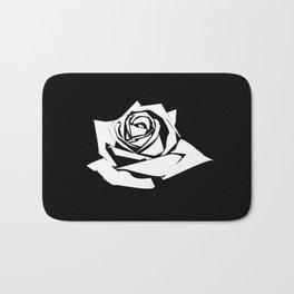 Rose Stencil Bath Mat