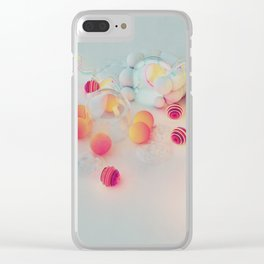 Spherical Gradient Clear iPhone Case