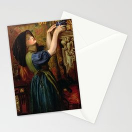 Dante Gabriel Rossetti - Marigolds Stationery Cards