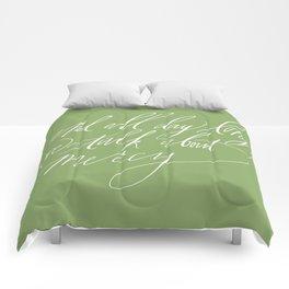 """Sadie"" (Joanna Newsom) in green Comforters"