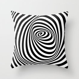 Optical illusion 7 Throw Pillow