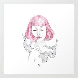 Qi Art Print
