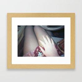 feminimity Framed Art Print