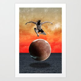 Modern Vintage Collection -- Infinity Art Print