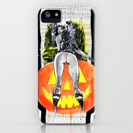 THE GREAT PUMPKIN STRIKES BACK iPhone Case