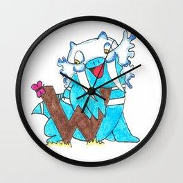 W is for Walrein Wall Clock