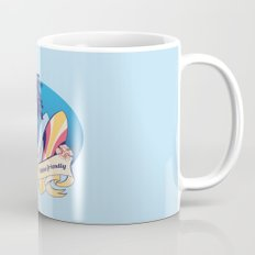 Aloha-friendly surf, summer, beach Mug